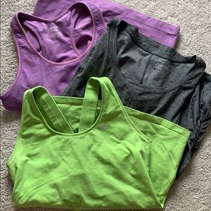 Lot of 3 Tank Tops